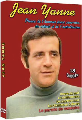 Jean Yanne : Prince de l'humour pince sans-rire, du vitriol et de l'autodérision = Jean Yanne - 18 Succès | s. Réalisateur