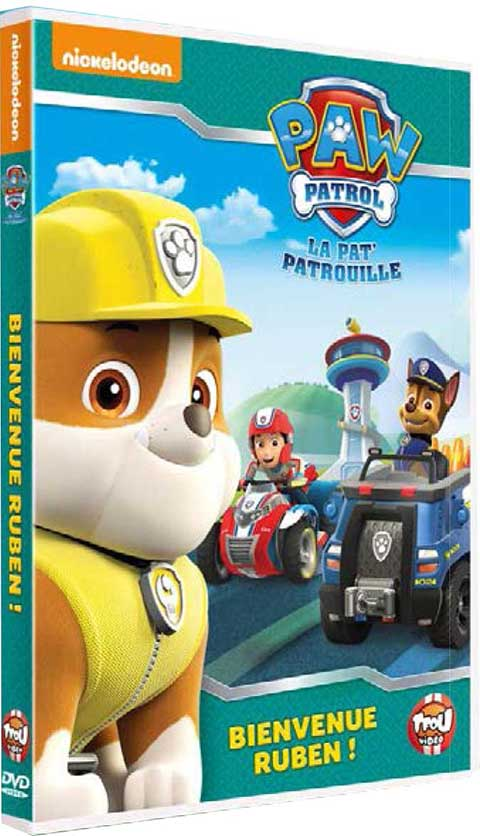 Pat' Patrouille. Bienvenue Ruben !. 7 = Paw Patrol. DVD |