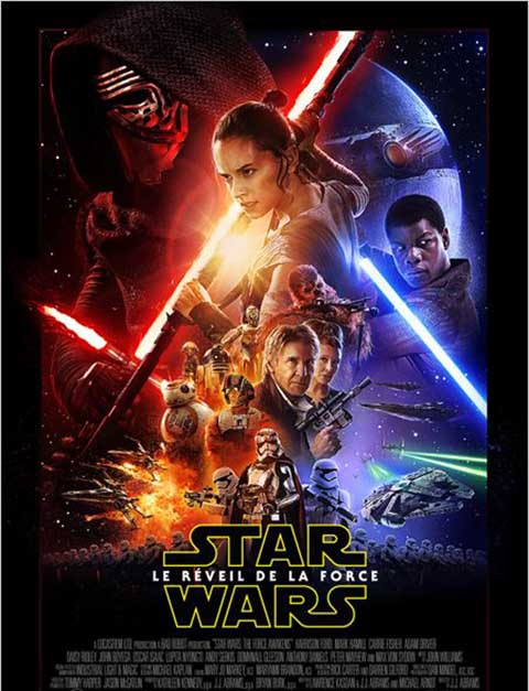 Star Wars - 7 - Le Réveil de la Force. DVD. Episode 7, Le Réveil de la Force = Star Wars: Episode VII - The Force Awakens / J.J. Abrams, réal. | Abrams, J.J.. Monteur. Scénariste