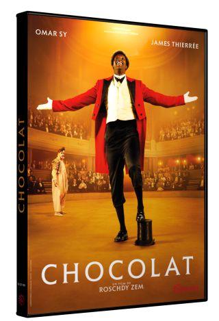 Chocolat / Roschdy Zem, réal. ; Omar Sy, James Thiérrée, Clotilde Hesme, Olivier Gourmet, Frédéric Pierrot, Noémie Lvovsky, act. |