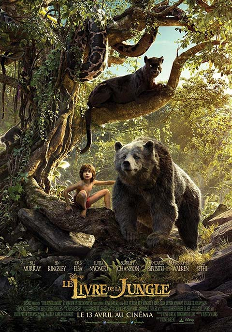 Le Livre de la jungle. DVD : Le film = The Jungle Book / Jon Favreau, réal. | Favreau, Jon. Monteur