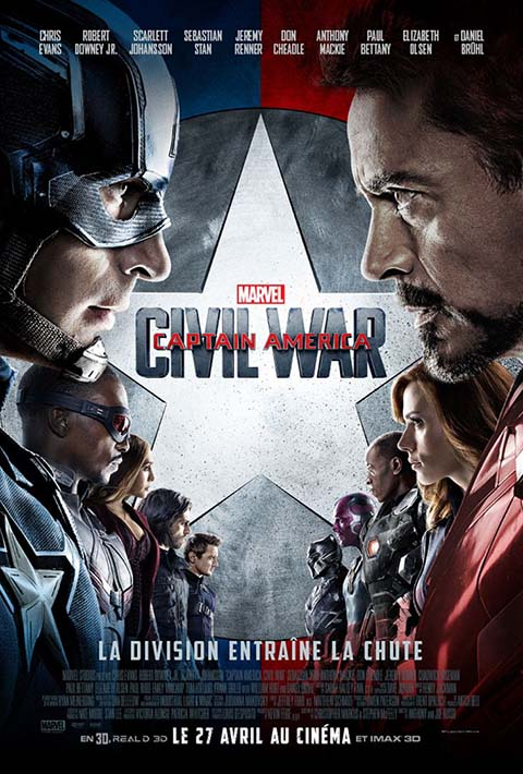 Captain America - Civil war=
