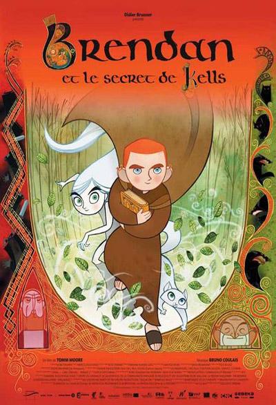 Brendan et le Secret de Kells = The Secret of Kells | Moore, Tomm. Monteur