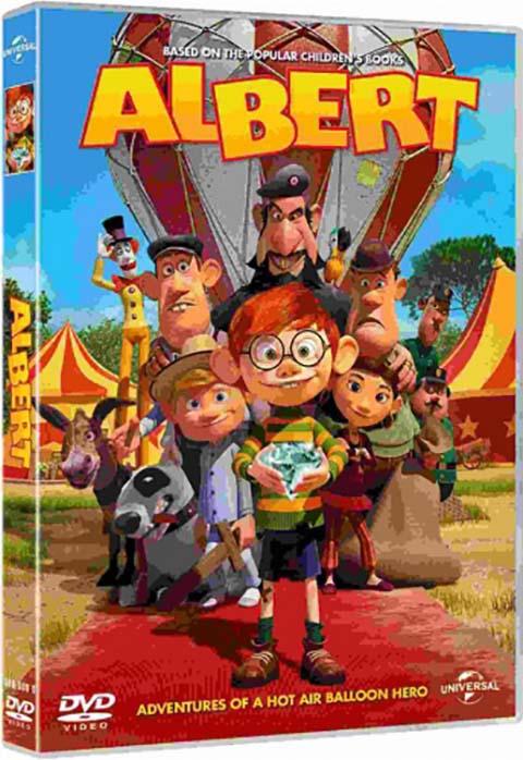 Albert : les aventures d'un capitaine de montgolfière |