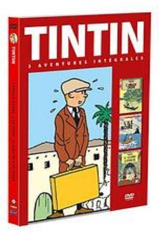 Tintin : 3 Aventures intégrales. L'Oreille cassée. L'île noire. Le Spectre d'Ottokar. DVD. Volume 2 / Stéphane Bernasconi, réal.   Bernasconi, Stéphane. Monteur
