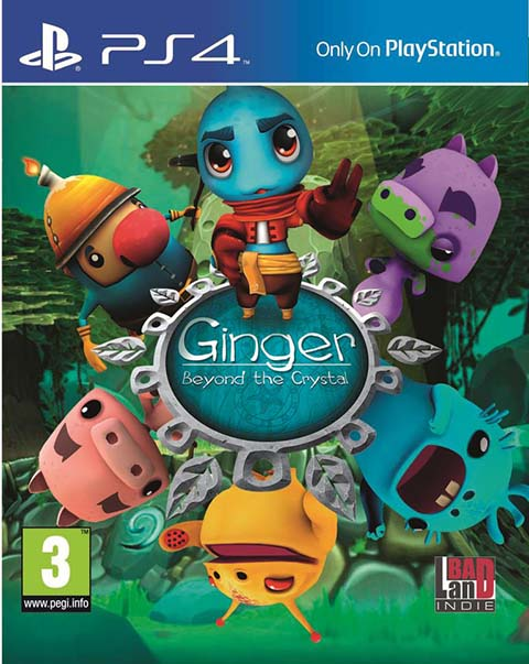 Ginger - Beyond the crystal-PS4 : PS4 |