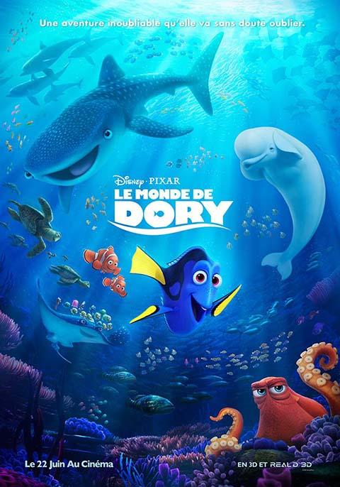 Le Monde de Dory. DVD = Finding Dory / Andrew Stanton, Angus MacLane, réal. | Stanton, Andrew. Monteur. Antécédent bibliographique. Scénariste