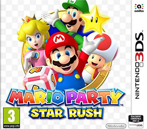 Mario party - Star rush : jeu 3DS |