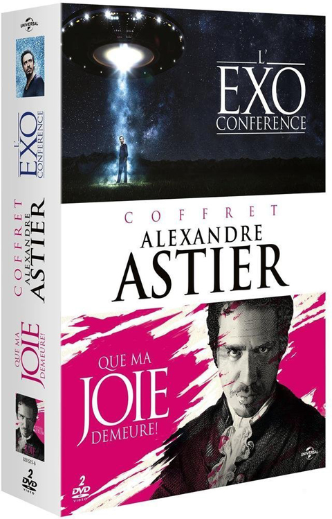 Que ma joie demeure = Coffret Alexandre Astier : Que ma joie demeure ! + L'Exo conférence | Astier, Alexandre (1974-....). Acteur