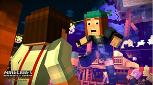 Minecraft - Story Mode - The complete adventure : jeu XBOX One |