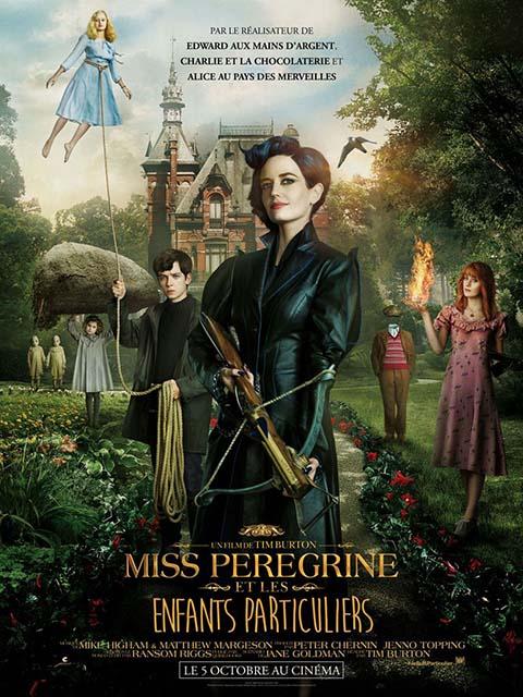 Miss Peregrine et les enfants particuliers = Miss Peregrine's Home for Peculiar Children | Burton, Tim (1958-....). Metteur en scène ou réalisateur