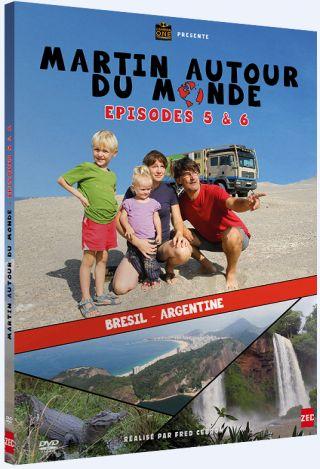 Martin autour du monde, épisodes 5 et 6  : Brésil, Argentine