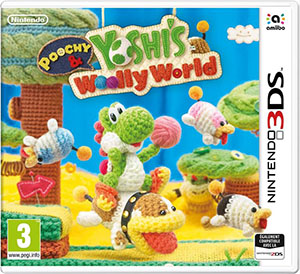 Poochy & Yoshi's woolly world : jeu Nintendo 3DS |