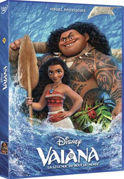 Vaiana. DVD : La légende du bout du monde = Moana / John Musker, Ron Clements, réal. | Musker, John. Monteur