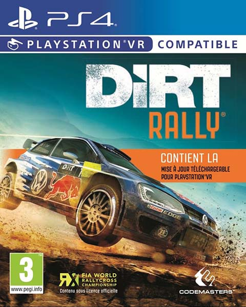 DiRT rally - VR - PS4  |