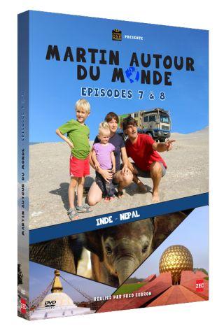 Martin autour du monde, épisodes 7 et 8  : Inde, Népal