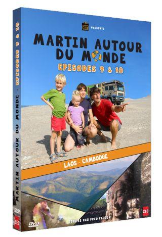 Martin autour du monde, épisodes 9 et 10  : Laos, Cambodge