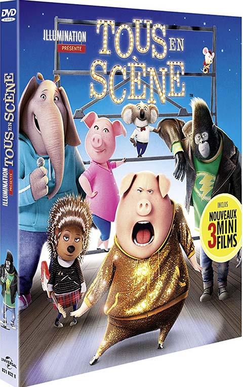 Tous en scène. DVD = Sing / Garth Jennings, réal. | Jennings, Garth. Monteur. Scénariste