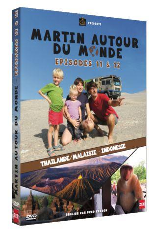 Martin autour du monde, épisodes 11 et 12  : Thaïlande, Malaisie, Indonésie