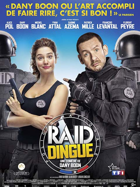 Raid dingue | Boon, Dany. Acteur