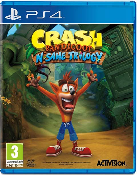 Crash Bandicoot - N. Sane Trilogy : jeu PS4 |
