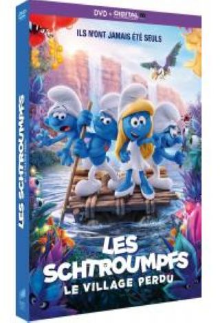 Les Schtroumpfs et le Village perdu. DVD = Smurfs: The Lost Village / Kelly Asbury, réal. |