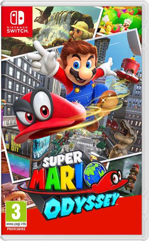 Super Mario Odyssey - Switch  |
