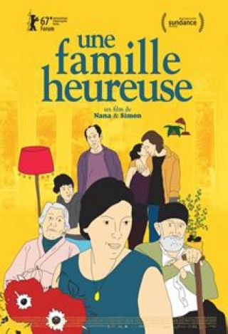 Une Famille heureuse = Chemi Bednieri Ojakhi / Nana Ekvtimishvili, Simon GroS, réal. | Ekvtimishvili, Nana. Metteur en scène ou réalisateur. Scénariste