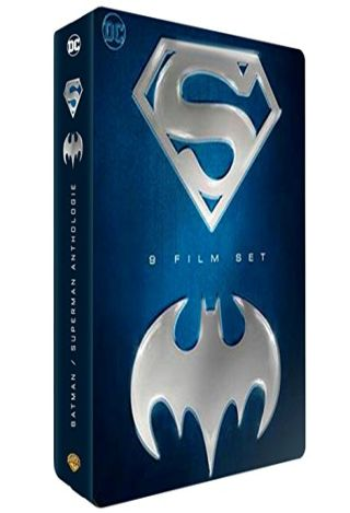 Coffret Batman / Superman | Burton, Tim. Monteur