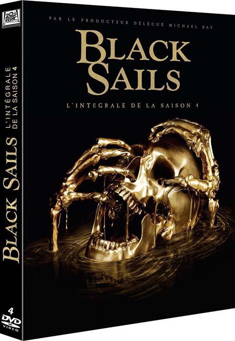 vignette de 'Black Sails -DVD- n° 4<br /> Black Sails (Jonathan E. Steinberg)'