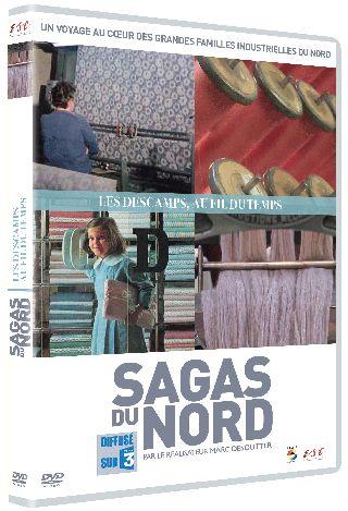 Sagas du Nord : Les Descamps, au fil du temps . DVD / Marc Desoutter, réal.   
