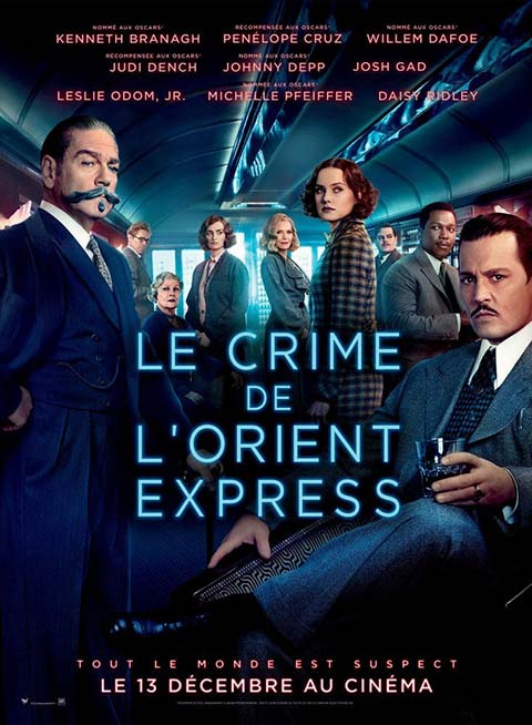 Crime de l'Orient Express (Le) = Murder on the Orient Express | Branagh, Kenneth. Acteur