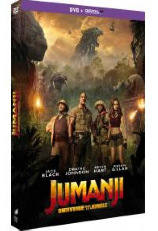 Jumanji - Bienvenue dans la jungle . DVD = Jumanji: Welcome to the Jungle / Jake Kasdan, réal.  |