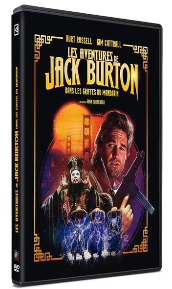 Les Aventures de Jack Burton dans les griffes du Mandarin = Big Trouble in Little China / John Carpenter | Carpenter, John. Metteur en scène ou réalisateur. Compositeur