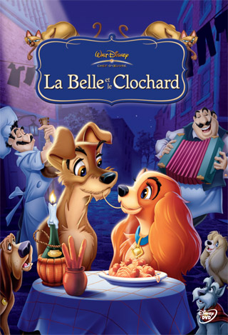 La Belle et le Clochard . DVD = Lady and the Tramp / Hamilton Luske, Clyde Geronimi, Wilfred Jackson, réal.   