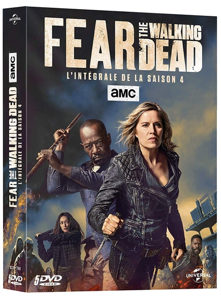Fear the Walking Dead : DVD 1 à 3 : Episodes 1 à 7 = Fear the Walking Dead |