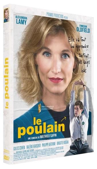 Le Poulain / Mathieu Sapin,scénariste et  réal. ; Alexandra Lamy, Finnegan Oldfield, Gilles Cohen,[ et al ], act. |