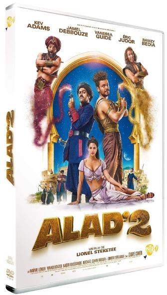 Alad'2 / Lionel Steketee, réal. ; Kev Adams, Jamel Debbouze, Vanessa Guide[et al ] act.  