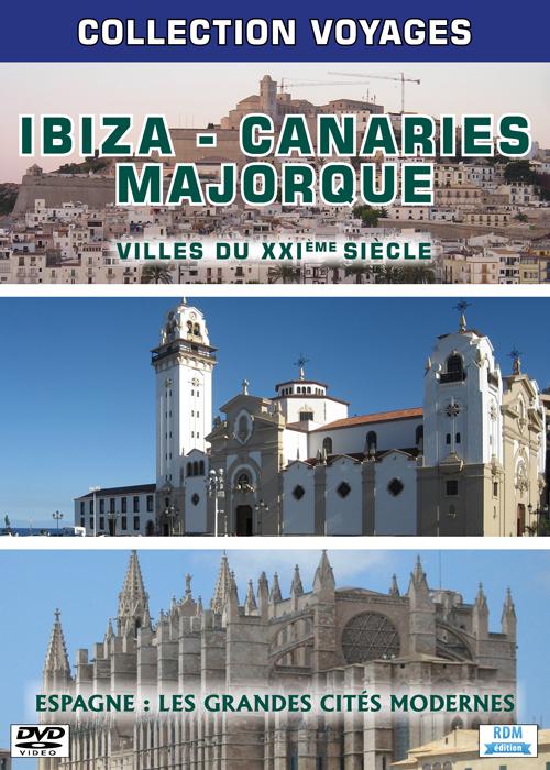 Ibiza - Canaries - Majorque . DVD |
