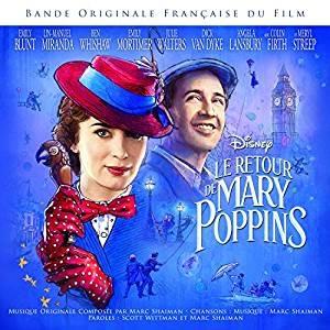 Le retour de Mary Poppins : Bande Originale du Film