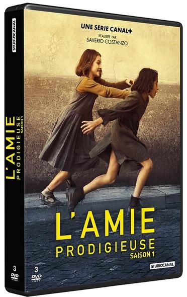 Amie prodigieuse (L') : 3 DVD | Costanzo, Saverio. Metteur en scène ou réalisateur