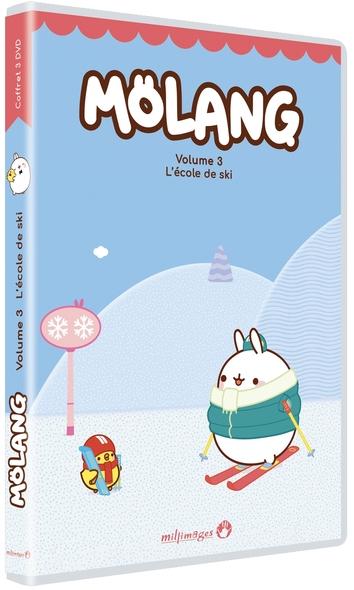 Mölang : L'école de ski / film de Marie-Caroline Villand | Villand, Marie-Caroline. Metteur en scène ou réalisateur. Scénariste