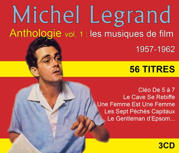 Michel Legrand - Anthologie Vol 1 : les musiques de film 1957-1962