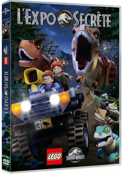 LEGO Jurassic World : L'expo secrète . DVD = LEGO Jurassic World: The Secret Exhibit  |