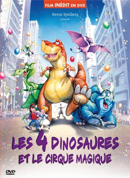 4 Dinosaures et le cirque magique (Les) = We're back ! A dinosaur's story | Nibbelink, Phil. Réalisateur