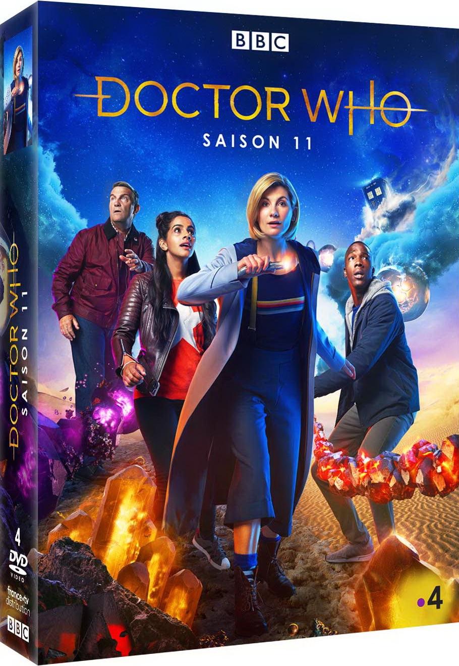Doctor Who : 4 DVD | Tonderai, Mark. Réalisateur
