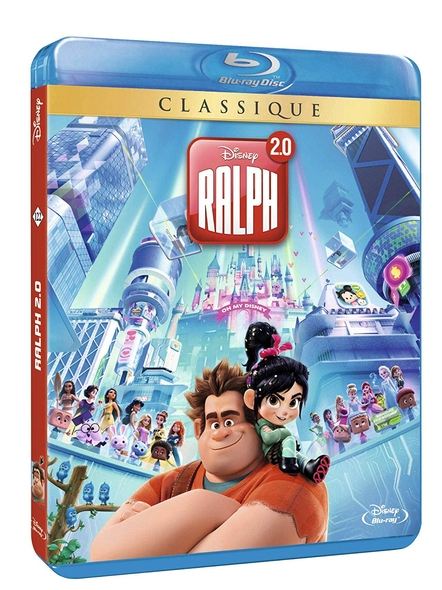 Ralph 2.0 = Ralph Breaks the Internet / Rich Moore, Phil Johnston | Moore, Rich. Metteur en scène ou réalisateur