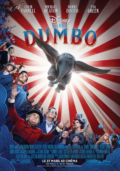Dumbo : Le film = Dumbo | Burton, Tim. Monteur