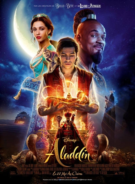 Aladdin - Le film . DVD = Aladdin / Guy Ritchie, réal.  | Ritchie, Guy. Scénariste