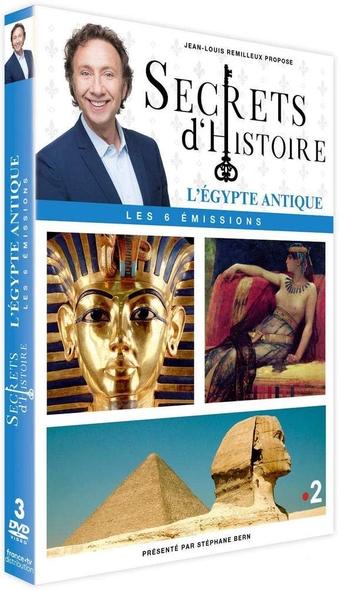 Egypte antique (L'). Secrets d'histoire . DVD / Jean-Louis Remilleux, réal.    Remilleux, Jean-Louis. Metteur en scène ou réalisateur